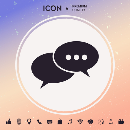 Chat, icon
