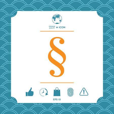 Graphic element for your design. Vektorové ilustrace