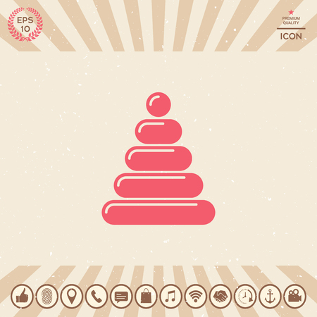 Children toy icon. Element for your design