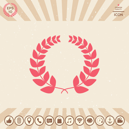 Laurel wreath - for yor design