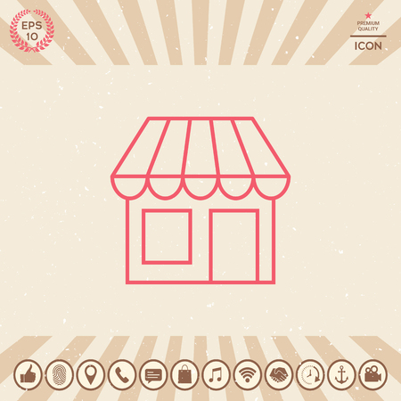 Graphic element for your design. Shop Vector illustration.