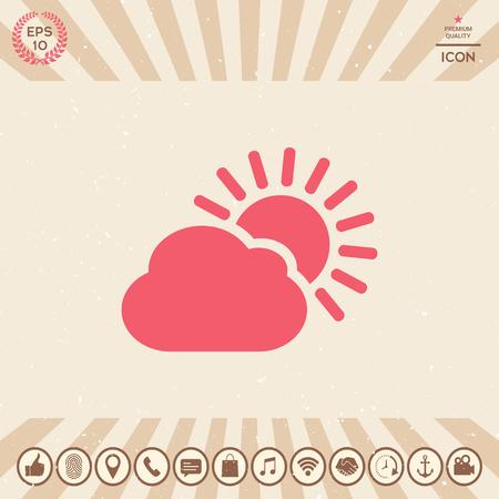Graphic element for your design. Weather Vector illustration. Illustration