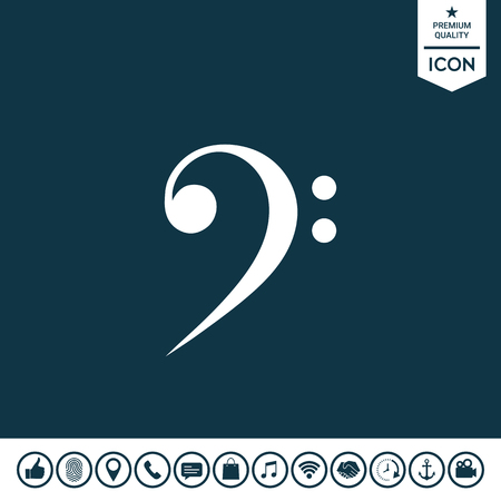 Punctuation marks icon. Illustration