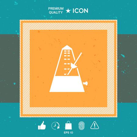 Pendulum graphic element design illustration.