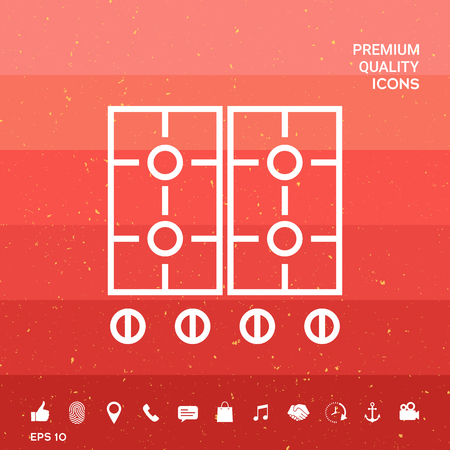 Cooking surface icon