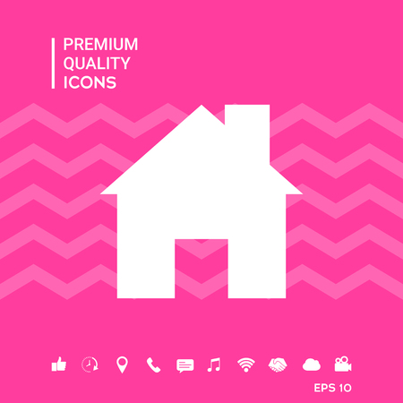 House signs and symbols - graphic elements for your design