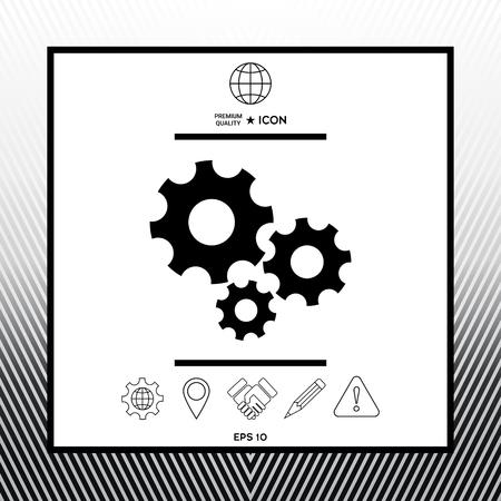 Gears wheel - Settings icon