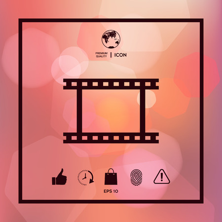Camerarol film symboolpictogram