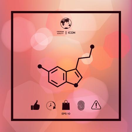 Chemical formula icon Serotonin