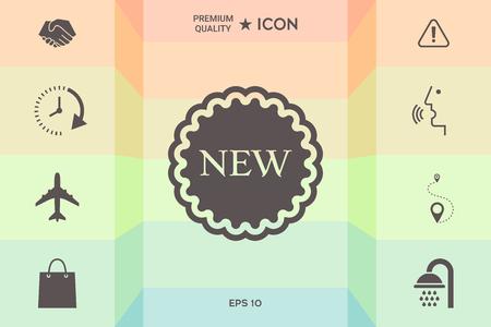 New offer icon vector illustration design.