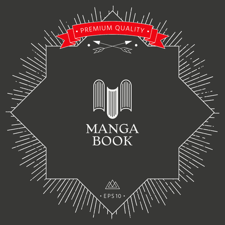 Book icon template
