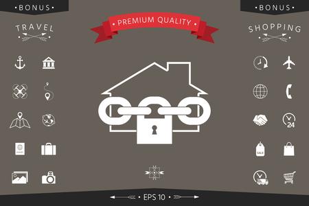 Home lock icon