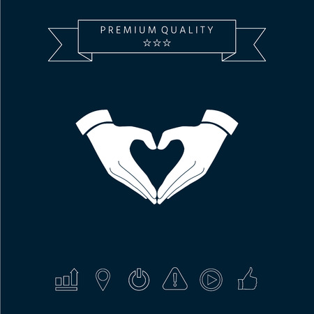 Caring Sign graphic elements for your design