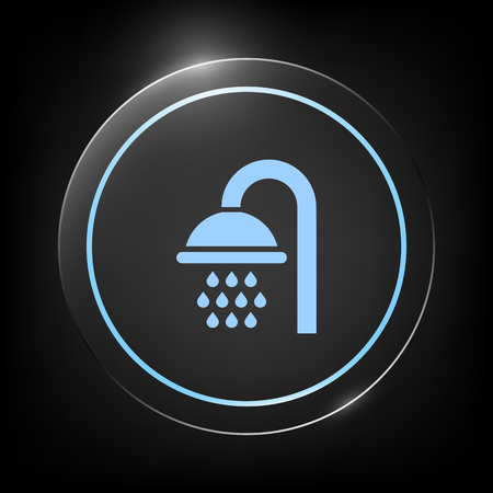 Shower icon symbol