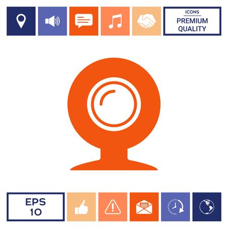 Webcam icon symbol