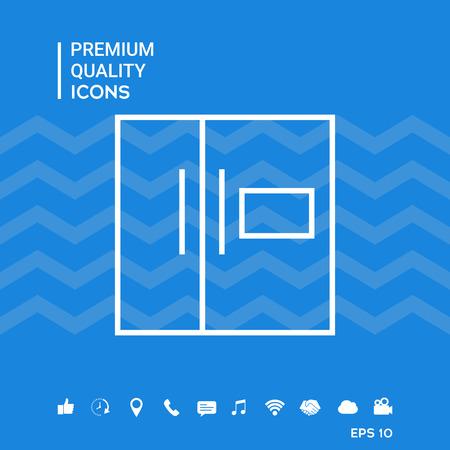 Refrigerator linear icon