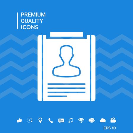 Resume icon symbol