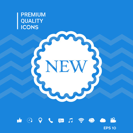 New offer icon Vectores