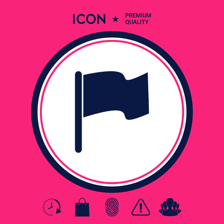 Flag icon symbol