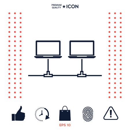 Computer network Icon