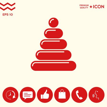 Icône de jouet enfants Banque d'images - 102395861