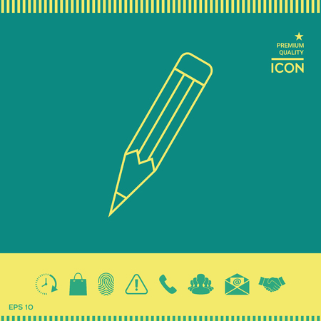Pencil - linear icon