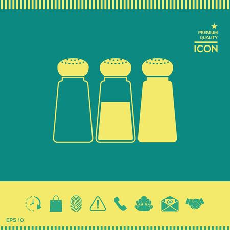 Salt or pepper shakers - set Stock fotó - 102400210