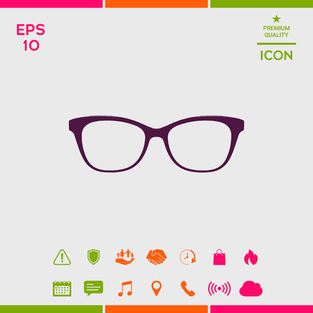 Glasses Icon symbol