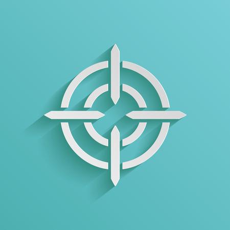 Symbole d'icône de but