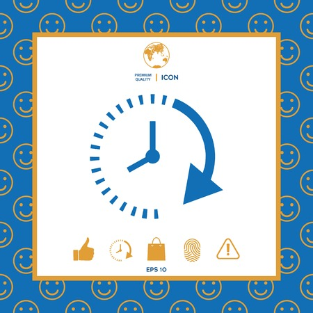 Passage of time icon