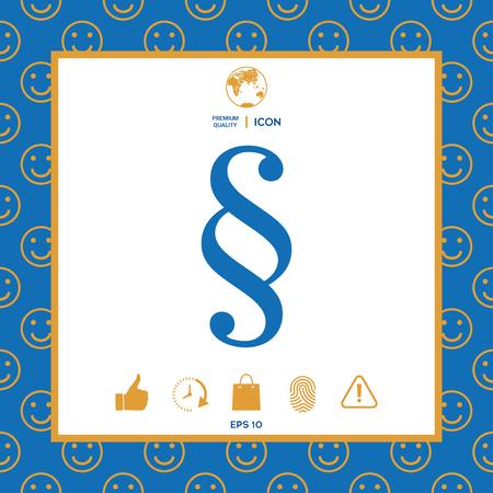 Paragraph icon symbol