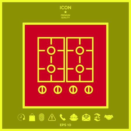 Cooking surface icon. Element for your design . Signs and symbols - graphic elements for your design