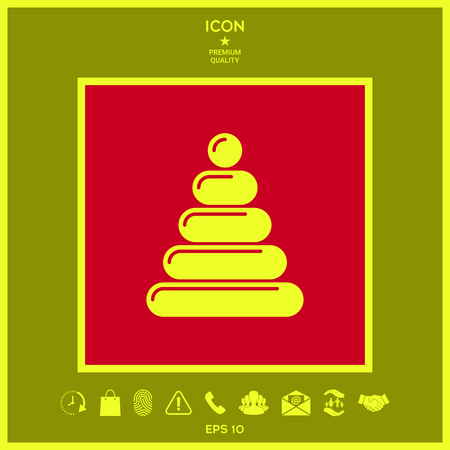 Children toy icon