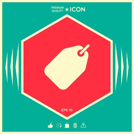 Tag icon symbol