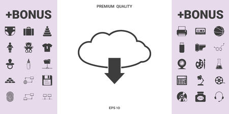 Download from Cloud. Element for your design .