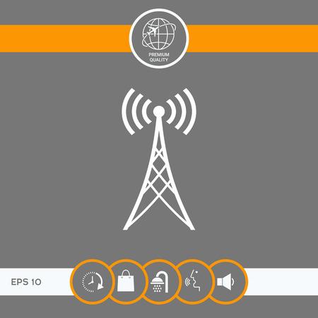 Antenna icon symbol