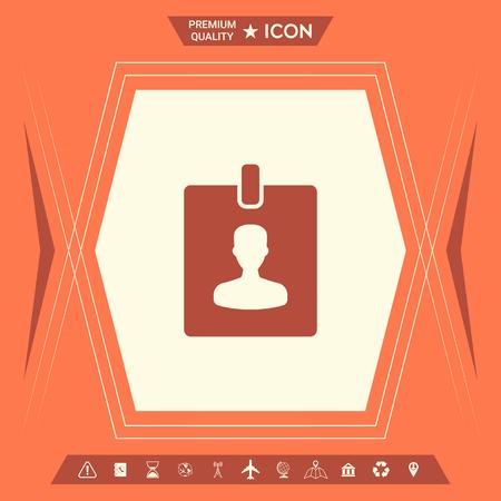 Badge symbol icon. Element for your design . Signs and symbols - graphic elements for your design