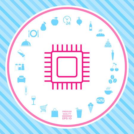 CPU symbol icon