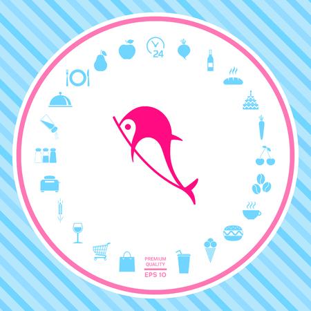 Dolphin symbol icon