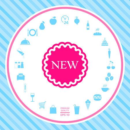 New offer icon . Signs and symbols - graphic elements for your design