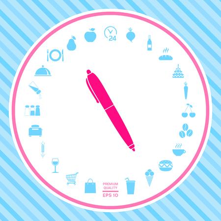 Pen icon symbol