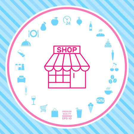 Shop icon symbol