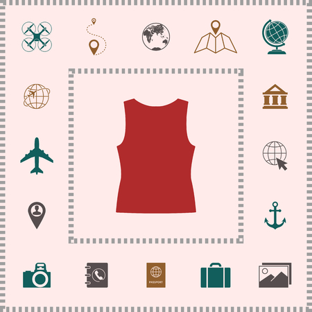 963 Tank Top Template Cliparts Stock Vector And Royalty Free Tank