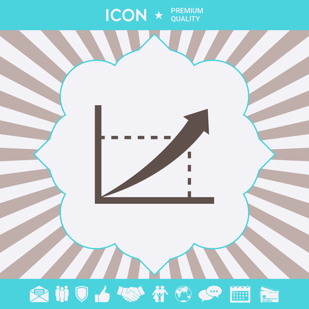 Graphic symbol icon . Signs and symbols for your designt  イラスト・ベクター素材