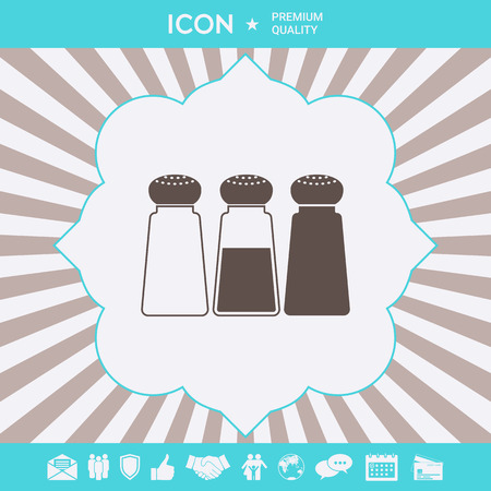 Salt or pepper shakers - set