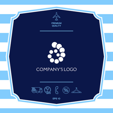 The logo is a spiral, a spiral chain of circles, the shell - is a symbol of development, enlightenment and wisdom.