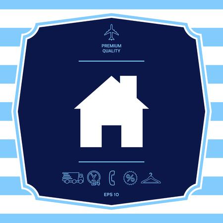 Home symbol icon