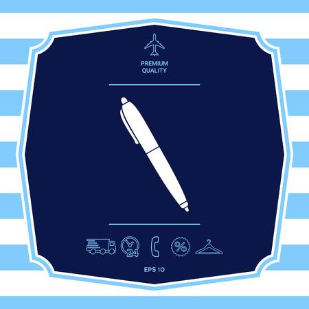 Pen symbol icon