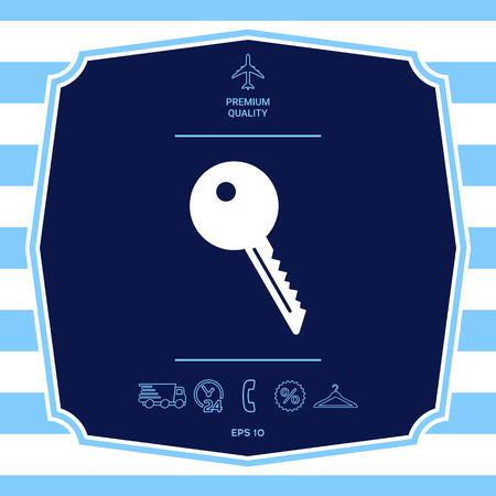 Key symbol icon