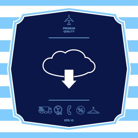 Download from Cloud. Element for your design